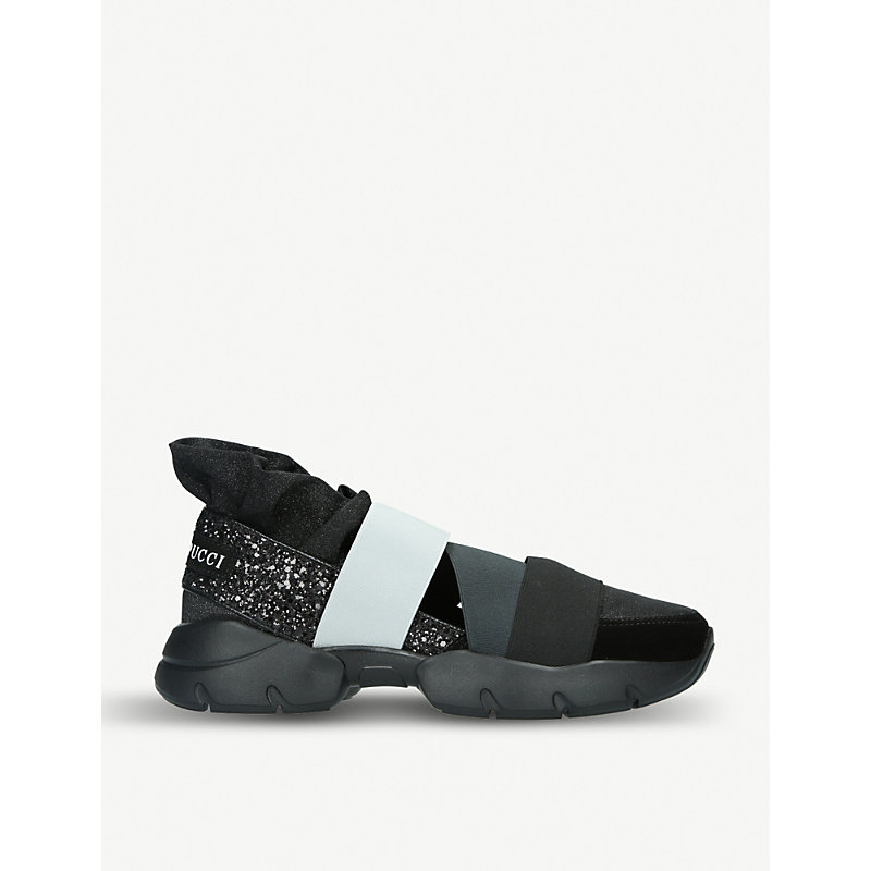 PUCCI City Up Night Sneakers in Black