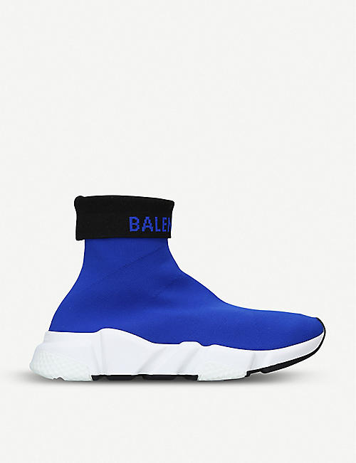 BALENCIAGA Logo Speed stretch-knit trainers
