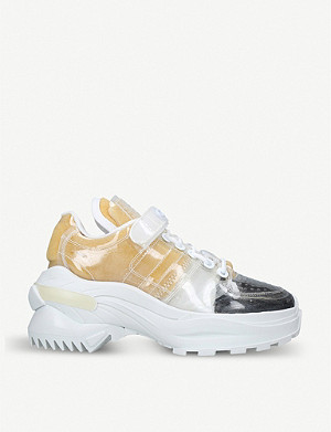 MAISON MARGIELA Retro Fit low-top PVC trainers