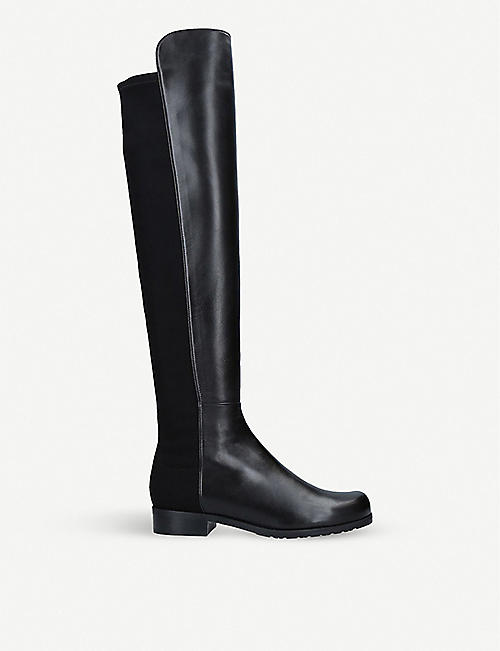 STUART WEITZMAN: The 5050 over-the-knee leather boots