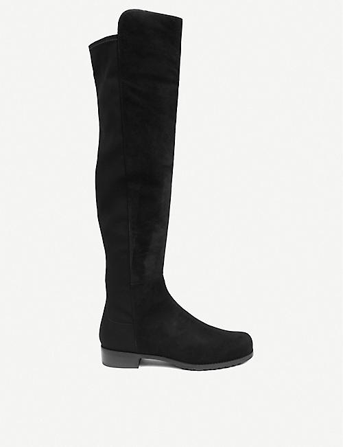 bdc5b33ebe019 STUART WEITZMAN 5050 suede riding boots