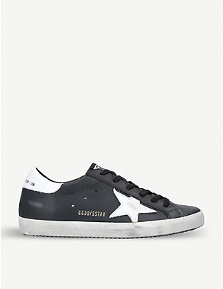 GOLDEN GOOSE: Superstar L27 leather trainers