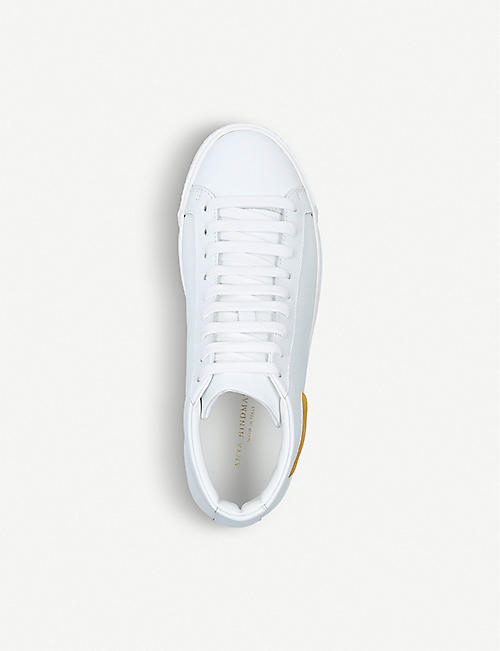ANYA HINDMARCH Wink leather mid-top trainers