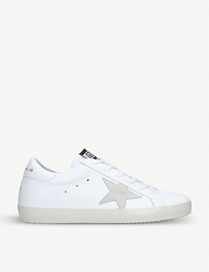 GOLDEN GOOSE Superstar G68 leather trainers