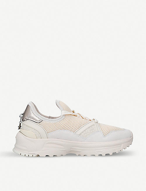COACH C143 Runner leather trainers