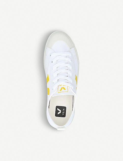 VEJA Nova organic cotton-canvas trainers