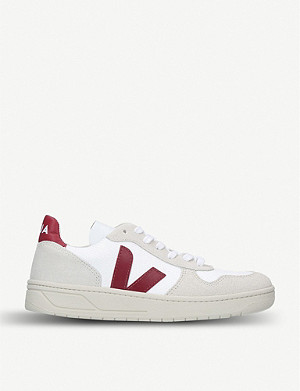 4a8a4ac520d25 VEJA - V10 leather trainers