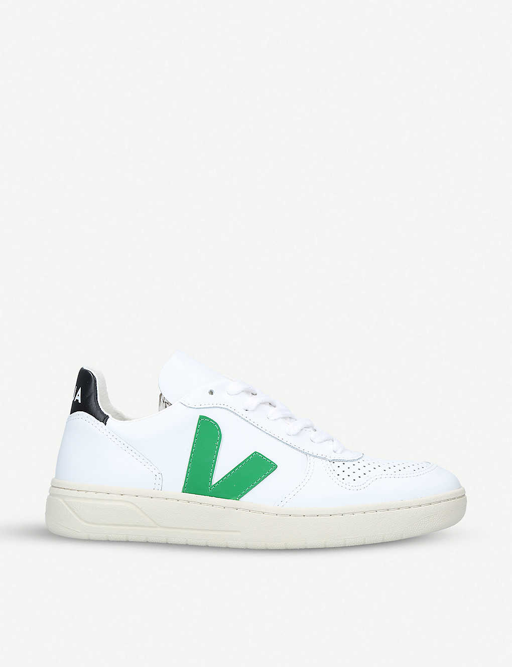 VEJA: V-10 coated-cotton trainers