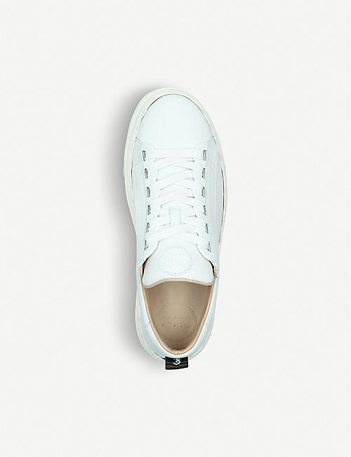 CHLOE Lauren leather trainers