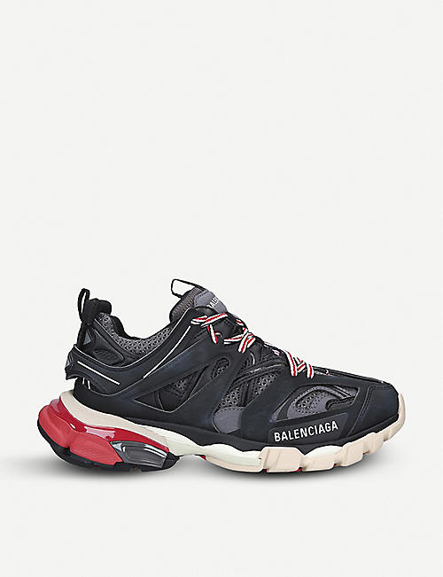 outlet store f62cb 81915 BALENCIAGA Track nylon and mesh trainers