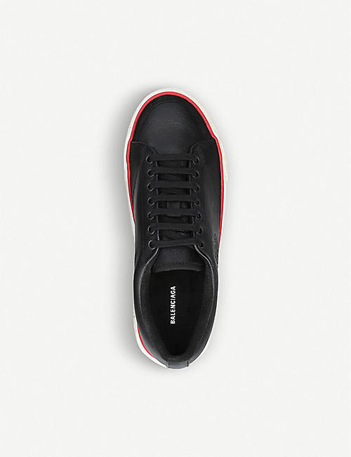 BALENCIAGA Match leather trainers