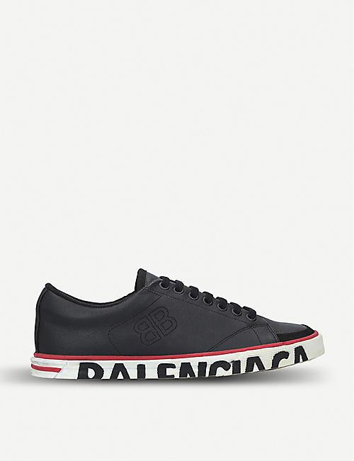 BALENCIAGA Match leather trainers 9e56a8e63