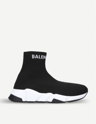 BALENCIAGA Speed high-top knitted trainers