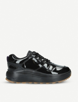 EYTYS Jet patent leather trainers