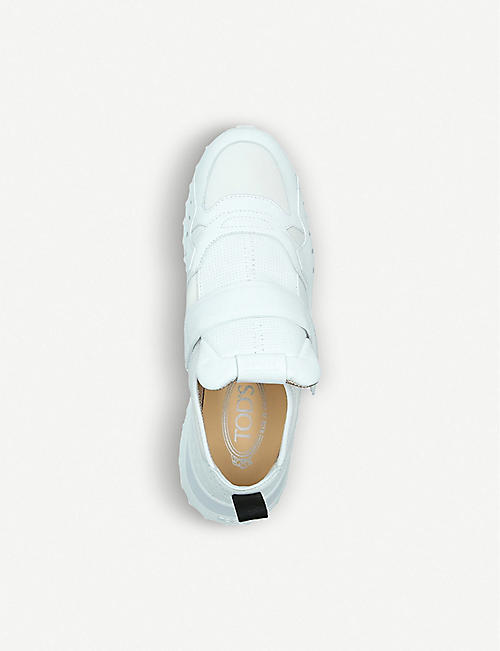 TODS Fondo Sportivo leather trainers