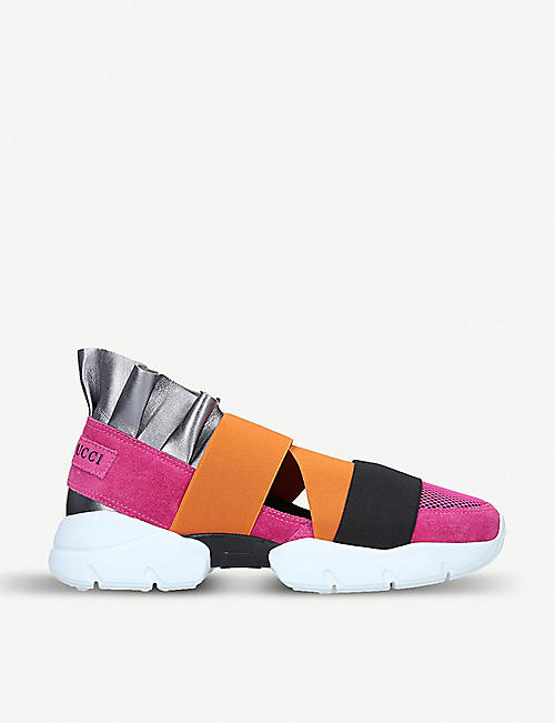 PUCCI Exclusive City Up panelled trainers