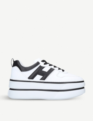 HOGAN Cassetta leather trainers