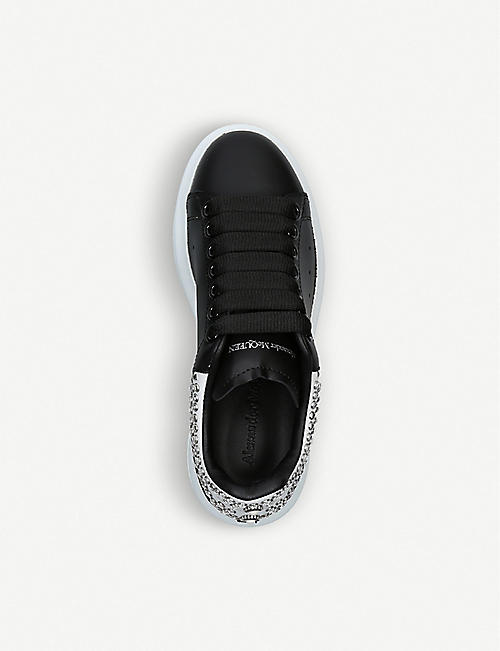 ALEXANDER MCQUEEN Runway stud-detail leather trainers