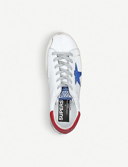 GOLDEN GOOSE Superstar N86 leather trainers