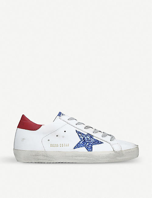 f001fd0369b5 GOLDEN GOOSE Superstar N86 leather trainers