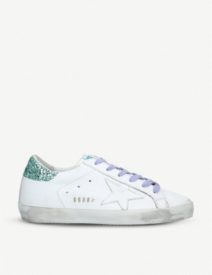 GOLDEN GOOSE Superstar 91 leather trainers