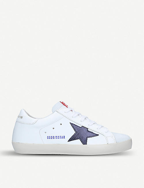 GOLDEN GOOSE Superstar o36 leather trainers a92440e6a510