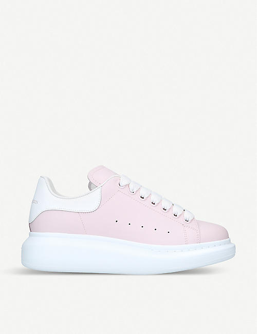 1cd1e92288 ALEXANDER MCQUEEN Runway leather trainers