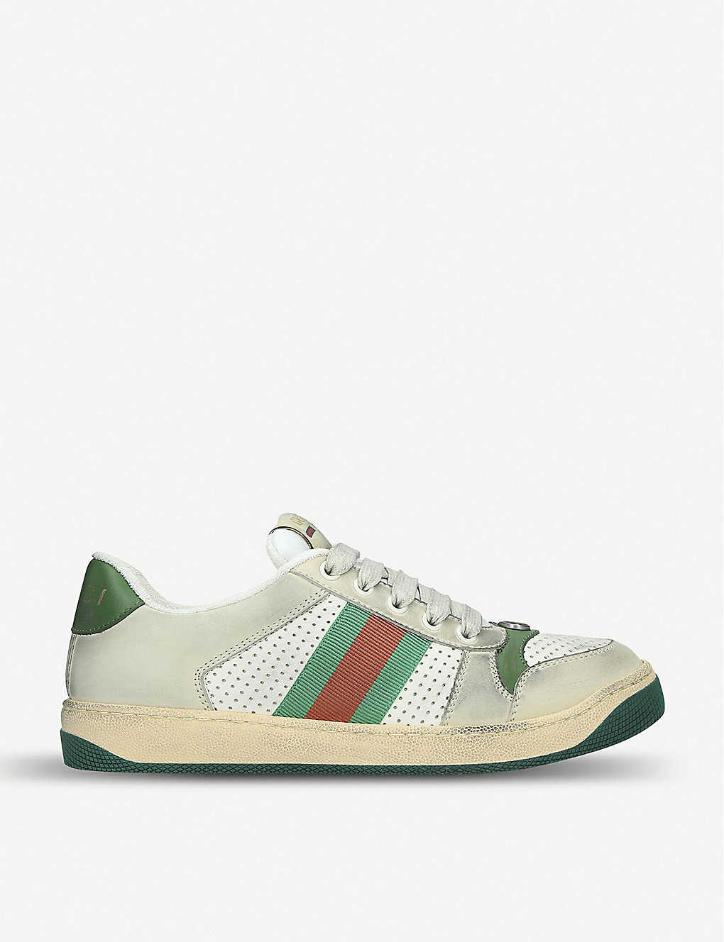 Gucci Shoes Screener leather trainers