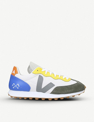 VEJA Veja X Bleu de Paname low-top Hexamesh trainers