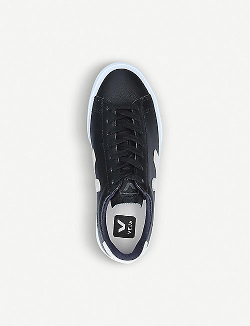 VEJA Campo ChromeFree leather low-top trainers