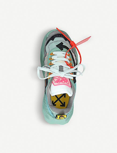 OFF-WHITE C/O VIRGIL ABLOH ODSY-1000 leather trainers