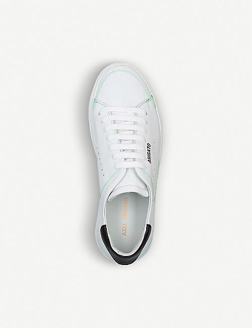 AXEL ARIGATO Clean 90 contrast-stitched leather trainers