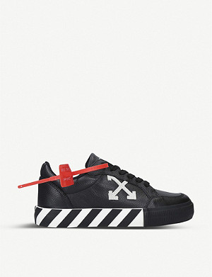 OFF-WHITE C/O VIRGIL ABLOH Arrow branded leather trainers
