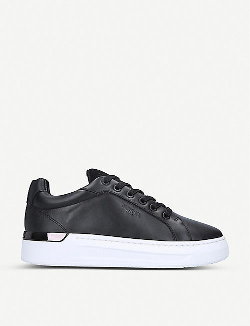 MALLET Grafter leather trainers
