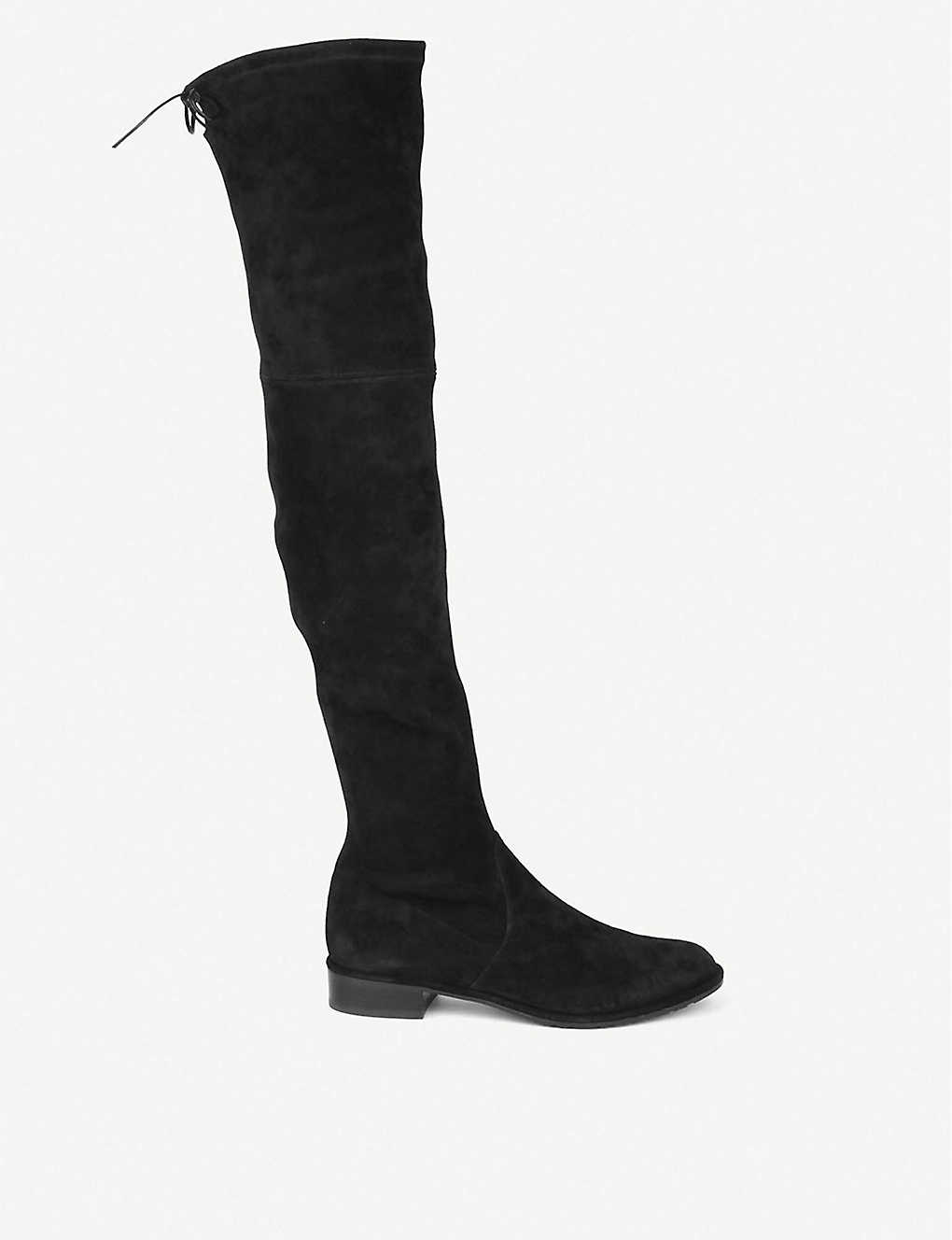 2995a27aa15 STUART WEITZMAN - Lowland suede thigh boots
