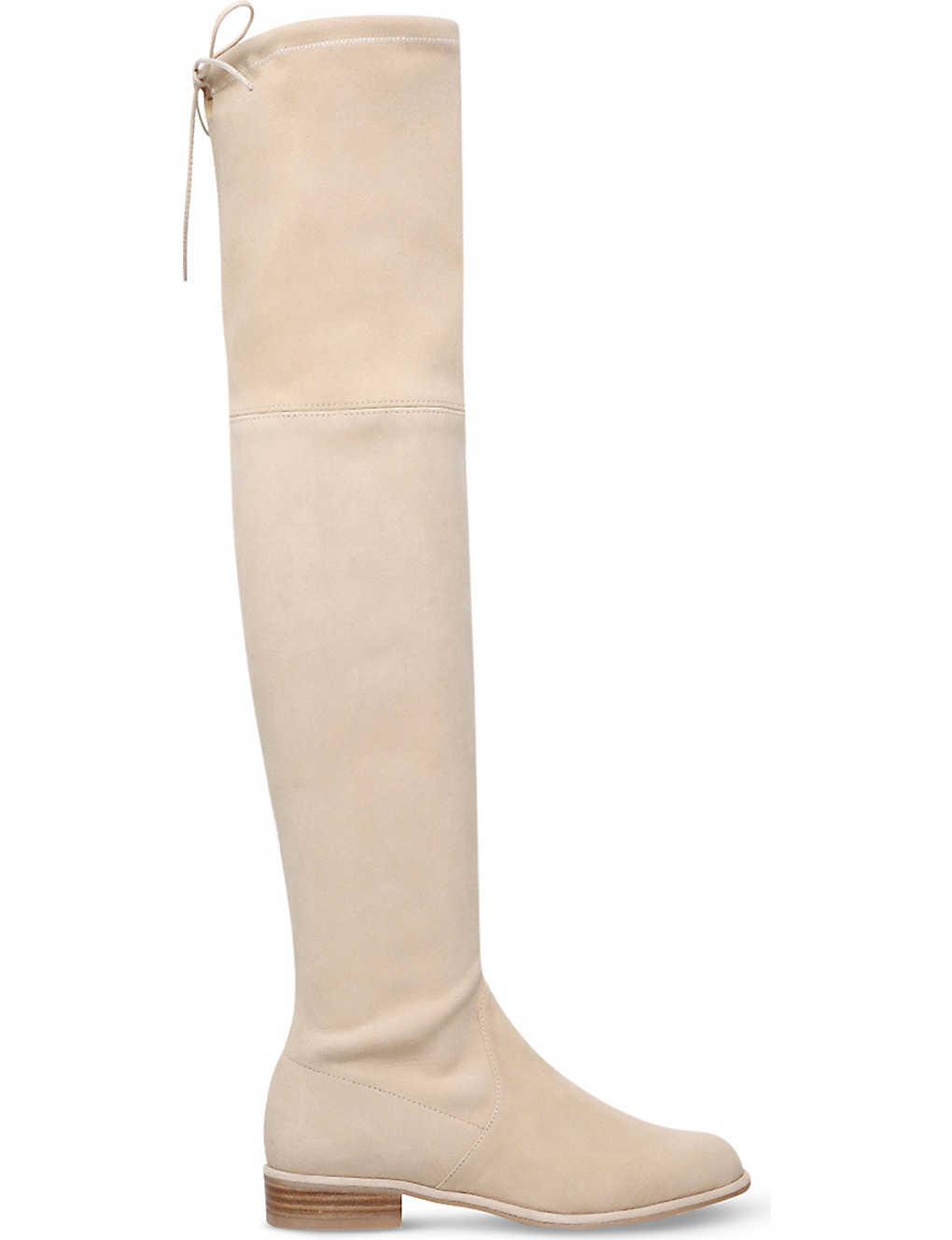 43ecc1c514dd STUART WEITZMAN - Lowland suede thigh-high boots | Selfridges.com