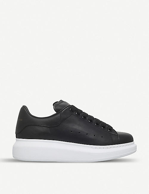 160033da24 ALEXANDER MCQUEEN Runway leather trainers