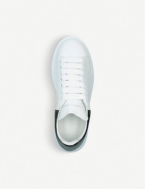 ALEXANDER MCQUEEN Runway leather trainers