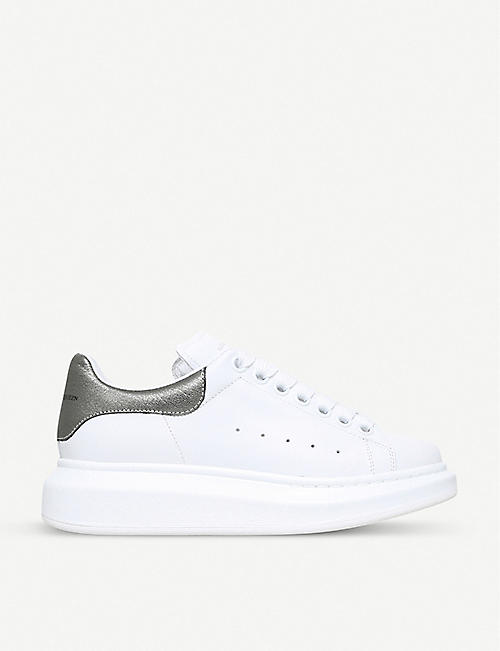 f6278ff6dbff ALEXANDER MCQUEEN Runway leather trainers