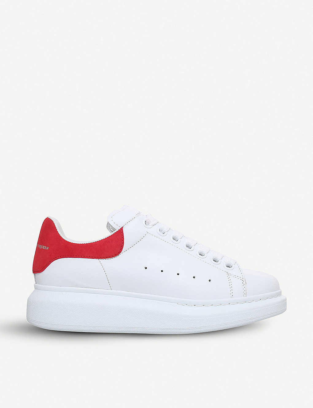 ALEXANDER MCQUEEN: Show leather trainers