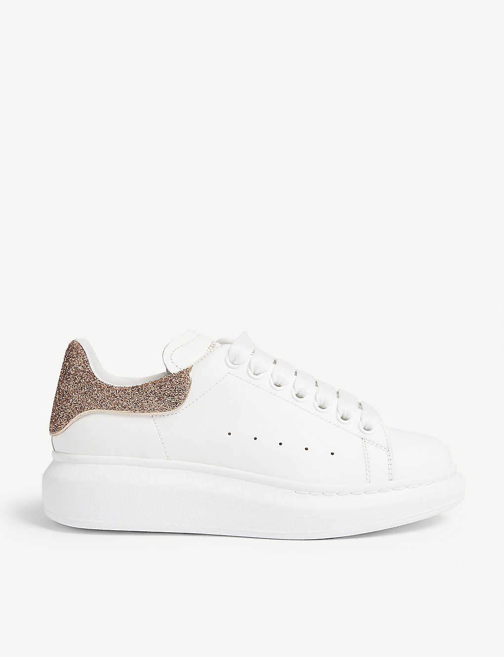 75a07f94be2e ALEXANDER MCQUEEN - Runway leather trainers