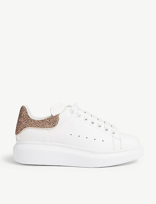 2157bc0f469b ALEXANDER MCQUEEN Runway leather trainers