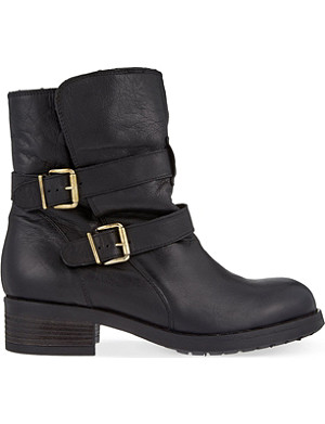 KURT GEIGER LONDON Richmond leather ankle boots