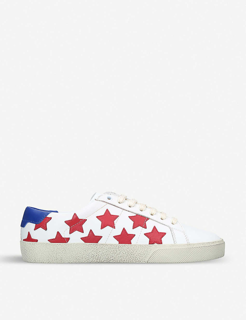 Court Classic Star leather trainers - Redother