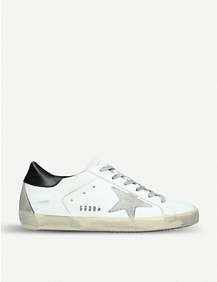 GOLDEN GOOSE: Superstar W5 leather trainers