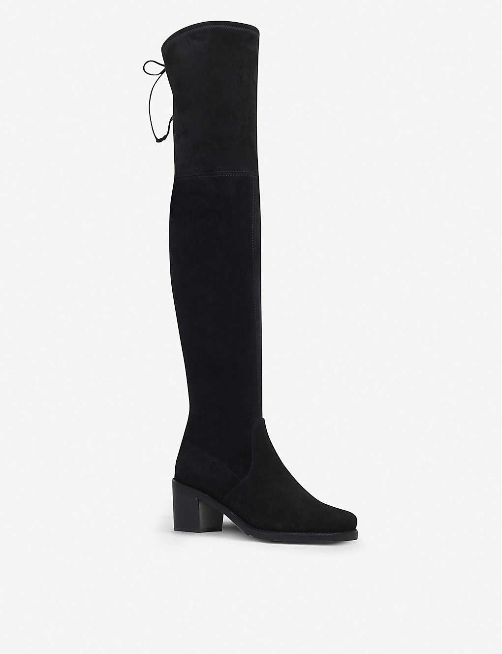 b77a0ea0a6b1 STUART WEITZMAN - Urban suede over-the-knee boots
