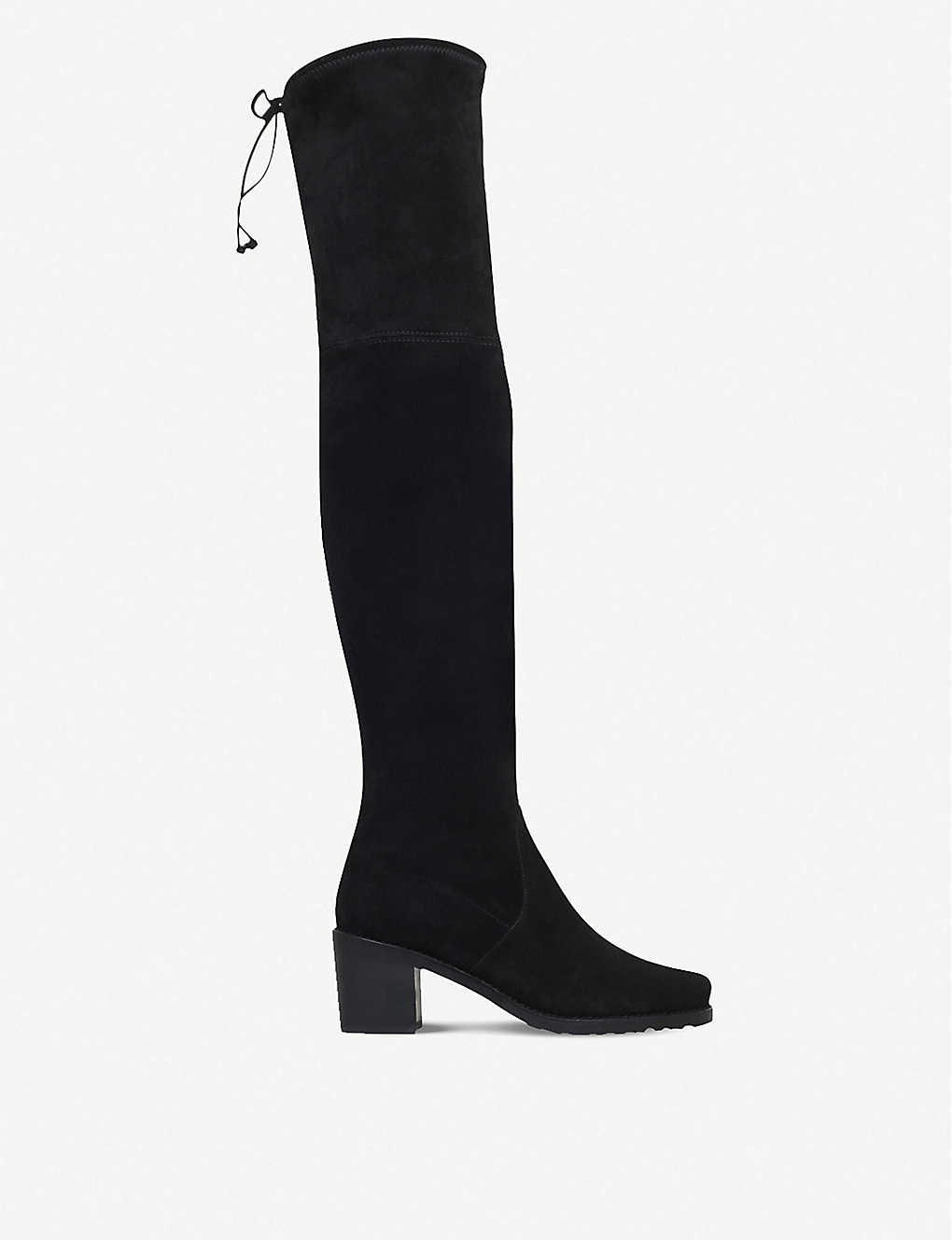 a1a295a0956 STUART WEITZMAN - Urban suede over-the-knee boots