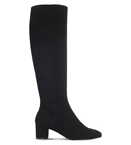 5a68bb1e0b4 KURT GEIGER LONDON - Dita suede knee-high boots