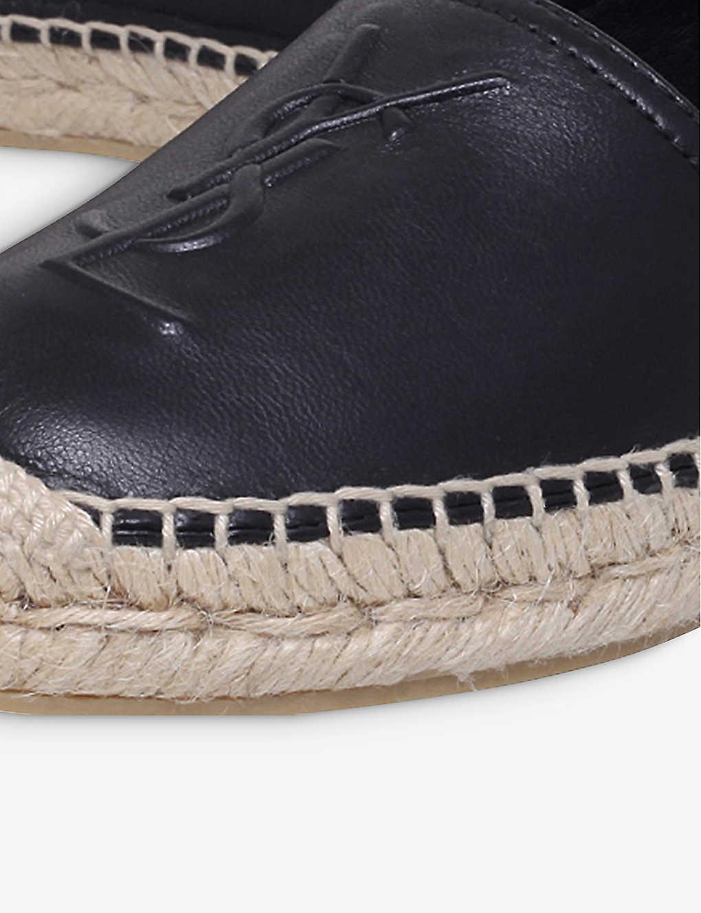 99ee5aaa2 SAINT LAURENT - Leather espadrilles | Selfridges.com