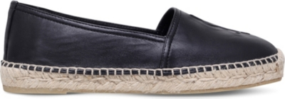 SAINT LAURENT Leather espadrilles